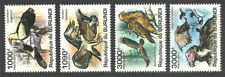 BURUNDI 2011 BIRDS RAPTORS VULTURE EAGLE SET MNH