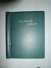 SG MINOR STAMP ALBUM