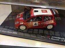 CITROËN C2 S1600 Rossetti 2004 - 1:43 DIECAST RALLY WRC MODEL CAR IXO