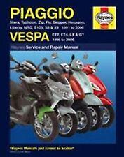 Manuales de motos para Piaggio