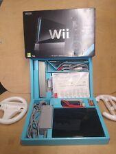 Nintendo Wii Black Console - Sports Resort Pack Plus Games