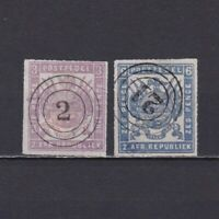 TRANSVAAL SOUTH AFRICA 1872, SG# 30-31, CV £110, Used