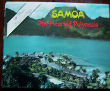 SOMOA 12 PHOTO VIEW FOLDER POSTCARD - VGC