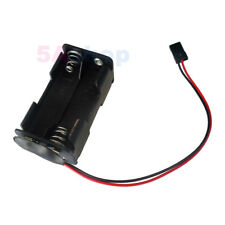 Battery Holder 4 AA 4.8V Case Box For RC Servo JR Hitec S Airtronic Z Connector