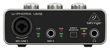 Behringer UM2 U-Phoria Audio Interface