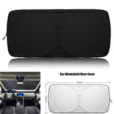 Durable 150*70cm Car SUV Auto Front Window Sun UV Visor Shade Cover Windshield