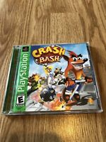 Crash Bash (Sony PlayStation 1, 2000) Ps1 Game Greatest Hits BB1
