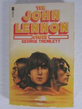 The John Lennon Story George Tremlett Paperback Book Beatles interest        ...