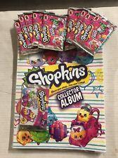 Shopkins Season 4 Collectors Binder With 10 Bonus Booster Packs!  Trading Cards!