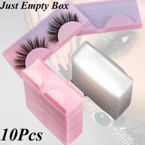 Lashes Packaging Box Eyelashes Boxes Transparent Lid Eyelash Tray Diamon d Box