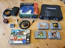 Nintendo 64 (N64) Console and Games Bundle Tested Working