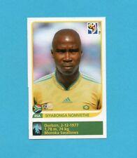 SOUTH/SUD AFRICA 2010-PANINI-Figurina n.46X-NOMVETH-AGGIORNAMENTO-NEW BLACK BACK