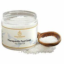 Tea Tree Oil Foot Soak with Epsom Salt Helps Soak Away Athletes Foot Fungi Nail