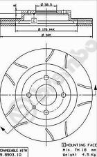 Bremsscheibe (2 Stück) BREMBO MAX LINE - Brembo 09.8903.75