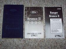 1990 Ford Bronco II 4x4 Original Owners Owner's Manual User Guide Book Set