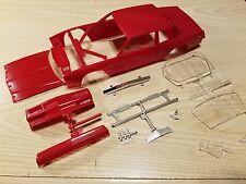 1986-89 Chevy Monte Carlo Aerocoupe Donor NASCAR 1/24 Scale Body Red Monogram