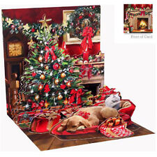 3D Pop Up Greeting Card from Up With Paper - HOLIDAY ROOM - UP-WP-C-1133