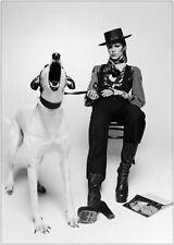 David Bowie Vintage Photo Large Poster Art Print A0 A1 A2 A3 A4 Maxi