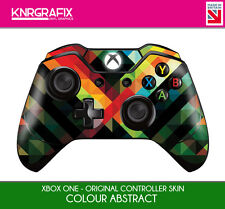 KNR6613 PREMIUM XBOX ONE CONTROLLER SKIN ABSTRACT COLOUR