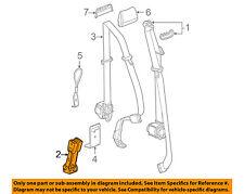 GM OEM Rear Seat Belts-Buckle 19300846