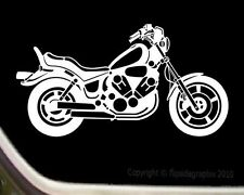 Decal For Yamaha Virago Motorcycle Rider M-002