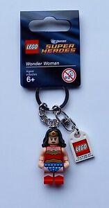 Lego Wonder Woman Keychain/Keyring - Marvel/DC Superheroes 853433