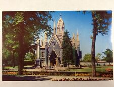 Assembly Hall in Temple Square Salt Lake City, Utah Ut Chrome Postcard Unused