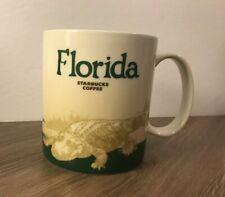 Starbucks Coffee Collector Series 2010 Florida Mug -Pre-owned 16 oz / 473 ml