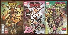 Marvel Zombies Destroy Comic Lot Of 3 .
