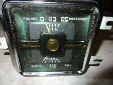 Oil Pressure & Fuel Gauge Cluster Assy. 1950 Dodge Wayfarer Coronet Meadowbrook