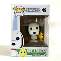 Funko POP Vinyl Snoopy & Woodstock Peanuts #49 VAULTED - AUS SELLER