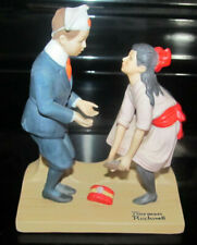 Norman Rockwell First Dance Figurine Danbury Mint 1980