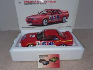 1:18 Biante Nissan GTR Skyline R32 GIO #4  Gibbs / Onslow 1991 Sandown Winner.