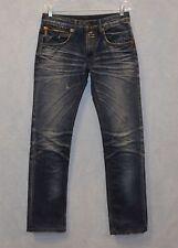A7 Auth TAKESHY KUROSAWA TK Denim Gallery Distressed Zip Fly Jeans Size 30