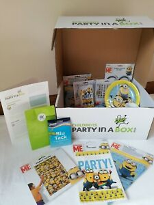 Minions Party Supplies Party in a Box
