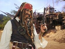 Authentic Captain Jack Sparrow Costume. Frock Coat Jacket Not Included.