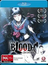Blood-C: The Last Dark (Movie) NEW B Region Blu Ray