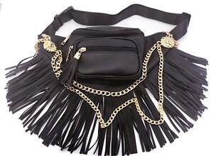 Lion Fringe Tassel Belt Bag