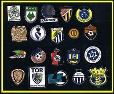set 20 pins BELGIUM football clubs pins metal badges football BELGIUM football