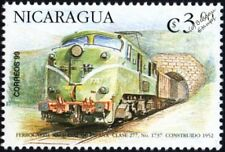 Spanish Railways (RENFE) Class 277 #7737 Electric Locomotive Train Stamp