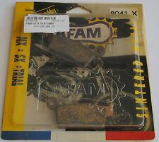 plaquette de frein arrière Afam Kawasaki KX 125 250 500 Suzuki RM HONDA CR 80 85