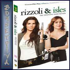 RIZZOLI AND ISLES - COMPLETE SEASON 3  **BRAND NEW DVD **
