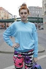 VEB Thüringer Obertrikotagen Damen Pullover blau 80er True VINTAGE 80´s women