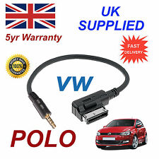Authentique VW POLO MMI 000051446D Jack 3.5 mm MP3 iPod En Voiture Câble Remplacement