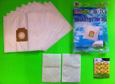 10 Sacchetti Per Aspirapolvere filtro (Mister Vac MV 638)