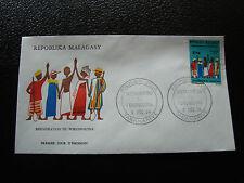MADAGASCAR - enveloppe 9/12/74 - fokonolona - yt n° 549 - (cy9) (E)