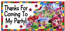 10 Candyland Candy Land Birthday Party Or Baby Shower Thank You Stickers