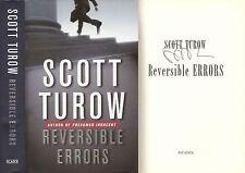Scott Turow - Reversible Errors - Signed - 1st/1st
