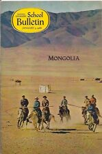 national geographic-SCHOOL BULLETIN-jan 3,1966-MONGOLIA.