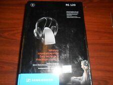 Sennheiser RS120 On-Ear Wireless RF Headphones with Charging Dock